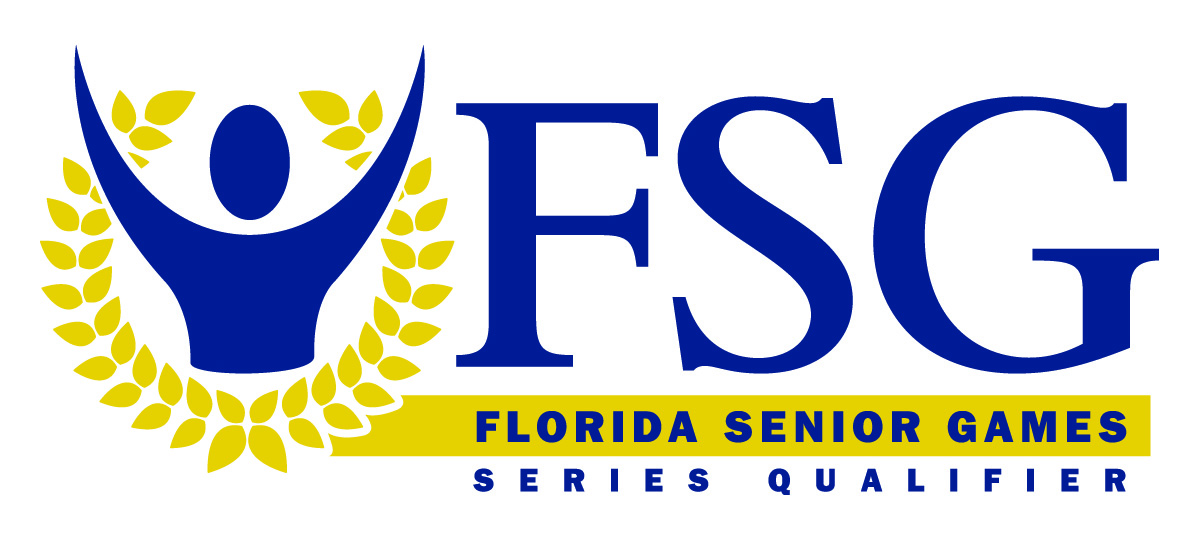 Florida Senior Games Logo (Series Qualifier)